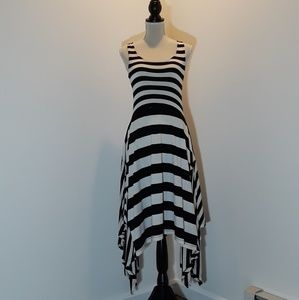 Buffalo David Bitton asymmetrical stripe dress